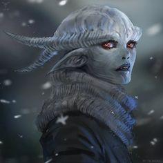 Winter Planet (Alien Girl) by telthona.deviantart.com on @DeviantArt
