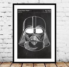 Star Wars, Darth Vader, Star Wars Poster, Star Wars Patent, Star Wars Print, The Force Awakens by STANLEYprintHOUSE  3.00 USD  This is a vintage patent print.   This poster is printed using high quality archival inks, and will be of museum quality. Any of these posters will make a great affordable gift, or tie any room together.  Please choose between different sizes and colors.  These posters are shipped in ..  https://www.etsy.com/ca/listing/268693413/star-wars-darth-vader-star-w..