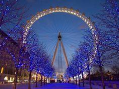 Beautiful London Eye.