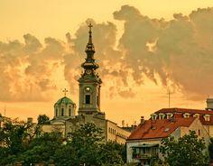 'Impression Sunrise' by borkodinus (Belgrade, downtown)