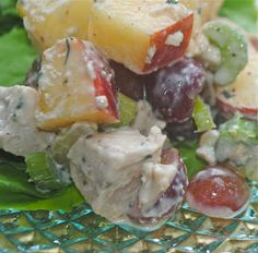 chicken waldorf salad - splendid and super snappy!