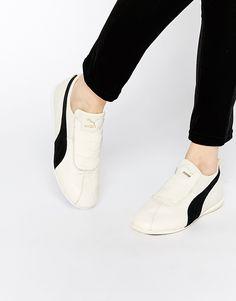 f70bef5ed73 Image 1 of Puma Eskiva White Low Trainers White Sneakers