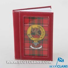 Hay Clan Crest Cover Notebook