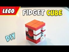LEGO Fidget Cube DIY - YouTube