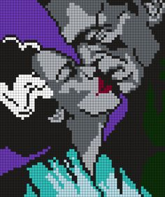 "Bride Of Frankenstein And Frankenstein's Monster ""Kiss"" by Maninthebook on Kandi Patterns"
