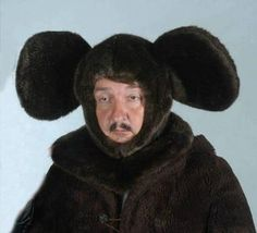 Depressed Russian mouse!