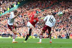 Manchester United 3-1 Aston Villa: Ander Herrera scores twice in win #dailymail