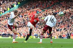 Manchester United 3-1 Aston Villa: Ander Herrera scores twice in win #dailymail