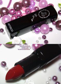 Artdeco Dita von Teese Fall Favorites Art Couture Lipstick Velvet 634 erotique  http://talasia.blogspot.de/2012/09/artdeco-dita-von-teese-fall-favorites.html