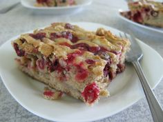 Cranberry walnut cake from the great Molly Katzen