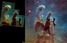 Telescópio Hubble volta a olhar para símbolo da beleza do universo 20 anos depois