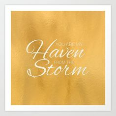 Haven from the Storm Art Print by Grace Kelly McConnell - $16.00