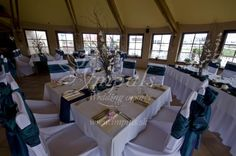 Tree centerpieces for different #winter#wedding