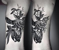 Kamil Czapiga floral bird