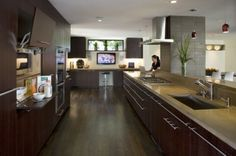 Kitchen microwave cabinet - modern - kitchen - san francisco - Camber Construction