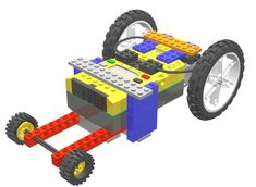 Design and develop a car that is capable of traveling across flat surfaces quickly, but can also negotiate a steep ramp.  Note: The WeDo version of the car re Lego 3d, Lego Math, Lego Robot, Lego Duplo, Learning Tools, Fun Learning, Lego Engineering, Lego Truck, Shop Lego