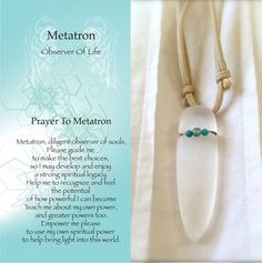 Metatron archangel prayer ♡ More