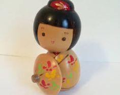 Image result for vintage kokeshi