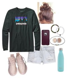 """HIT OR MISS IS MY LIFE ATM"" by abby-walker02 ❤ liked on Polyvore featuring MANGO, Patagonia, LifeProof, S'well, Everest and Stila"
