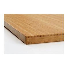 ALDERN Countertop - bamboo - IKEA