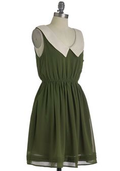 Olive Our Attention Dress
