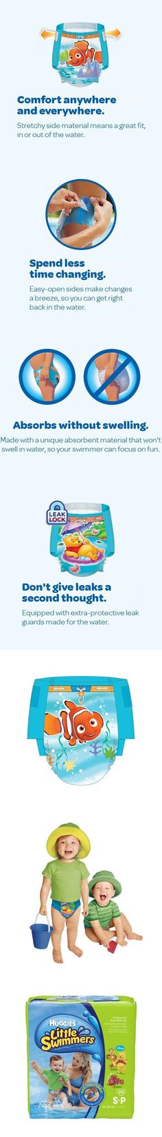 Huggies Little Swimmers Disposable Swimpants - Small - 20 Count - 2 PACKS