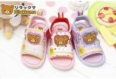 San-x Rilakkuma Kid LIGHT-UP Sandals Shoes LED KM3914