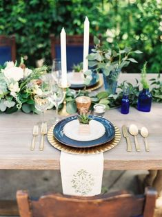 Photography: Ashley Bosnick Photography - ashleybosnick.com Photography: Tracy Enoch Photography - tracyenochphotography.com Wedding Venue: Aristide Events Center - aristideevents.com/ Read More on SMP: http://www.stylemepretty.com/2014/10/28/romantic-navy-italian-inspired-wedding/