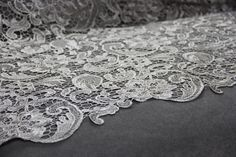 Silver Guipure Lace | Bridal Lace | Free Delivery within UK