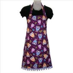 """Purple Peepers Apron"" . . . sooo cute! $23.85"