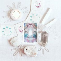 Wiccan, Witchcraft, Oracle Tarot, Oracle Deck, Modern Witch, White Witch, Crystal Magic, Witch Aesthetic, Tarot Readers