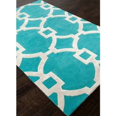 City By the Bay Area Rug - Turquoise