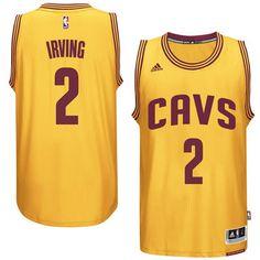 Kyrie Irving Cleveland Cavaliers adidas Player Swingman Alternate Jersey -  Gold Air Jordan f03377b66