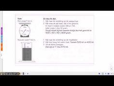 ▶ Pluspunt 3: groep 5 blok 8 les 3 maataanduidingen aflezen van liniaal weegschaal en maatbeker - YouTube