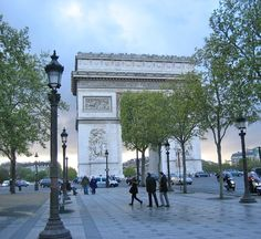 Paris Rendez-vous…like this picture of the arc de triumphe :)