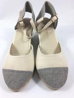 ef02e577077b Womens Beige Sandals Ladies Wedge Heel Summer Beach Strappy Shoes Size UK 7  New  sandals. eBay
