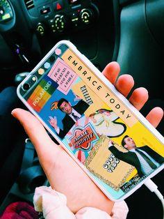 P i n t e r e s t : camhanaich ☆ iphone case ideas and stickers in 2019 чех Photo Phone Case, Tumblr Phone Case, Diy Phone Case, Cute Phone Cases, Funda Iphone 6s, Iphone 11, Aesthetic Phone Case, Iphone Cases Disney, Cool Cases