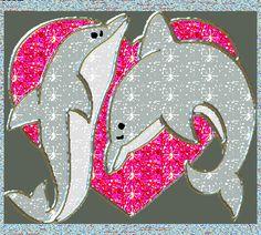 Heart Graphics, Glitter Graphics, Glitter Gif, Glitter Hearts, Glitter Nails, Gold Glitter, Dolphin Painting, Dolphin Drawing, Dolphin Art