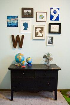 VINTAGE art wall