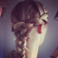 Flettet hår braids