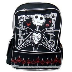 Goth Shopaholic: Dark and Sinister Backpacks for Gothic Back to School Shopping