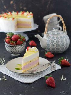 Erdbeer-Limetten-Torte *Dieser Beitrag enthält Werbung