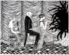 edward gorey | Happy Birthday Edward Gorey!