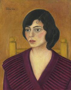 """Portrait of Miriam Penansky"" by Frida Kahlo, 1929."
