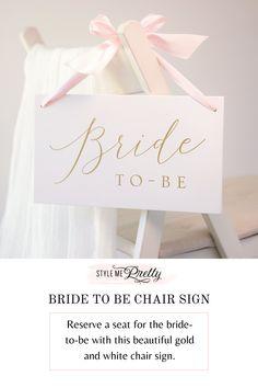 Vintage Wedding Theme, Chic Wedding, Wedding Reception, Wedding Chair Signs, Wedding Chairs, Bridesmaid Mug, Shop Old Navy, Fashion Branding, Ribbons