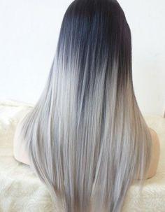 tendance couleur les cheveux gris couleurs pinterest gris cheveux et bleu. Black Bedroom Furniture Sets. Home Design Ideas