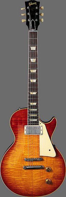 Gibson Custom Shop Les Paul 1958 Sunburst, single pickup