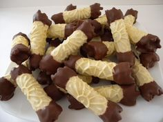 Chocolate Dipped Pizzelles