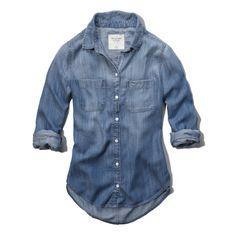Womens Eddy Denim Shirt