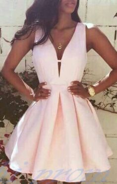 Satin Homecoming Dresses Short Prom Gown Pearl Pink Homecoming Gowns Sweet 16 Dress Elegant Homecoming Dresses Short Evening Dress